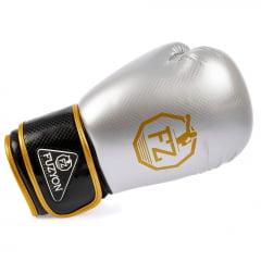 Luva de Boxe Carbono Prata