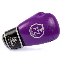 Luva de Boxe Carbono Roxa