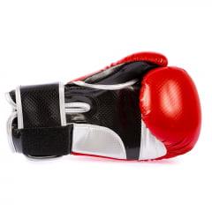 Luva de Boxe Carbono Vermelha